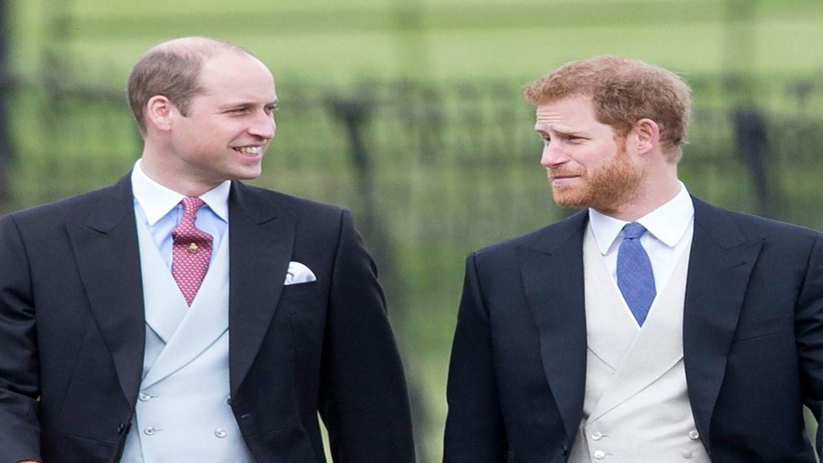 Los hijos de Diana de Gales William y Harry