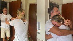 Sergio Lapegüe: el video del reencuentro con su hija que te emocionará hasta las lágrimas