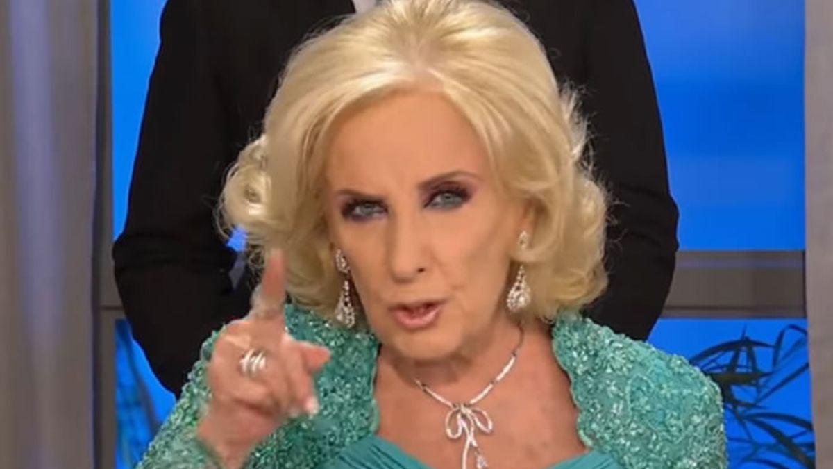 Mirtha Legrand dijo que no volverá a la televisión