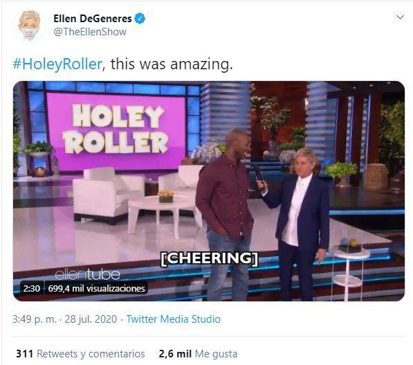 La comendiante y presentadora Ellen DeGeneres prácticamente está desaparecida de las redes. Su última comunicación fue el 28/7