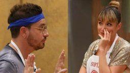 Fede Bal y Sofía Pachano se cruzaron en el primer capítulo de Masterchef