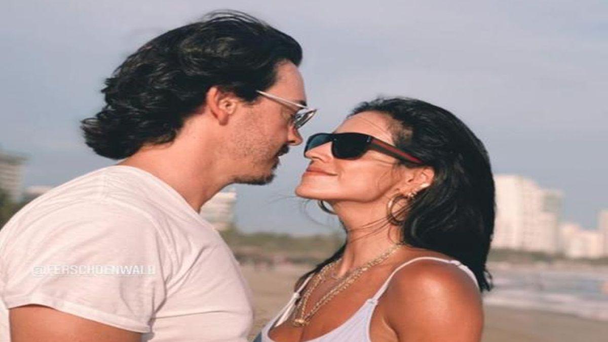 Bárbara de Regil se muestra enloquecida de amor en Acapulco