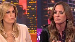 Momentos de tensión se vivieron durante la entrevista de Victoria Tolosa Paz y Viviana ca