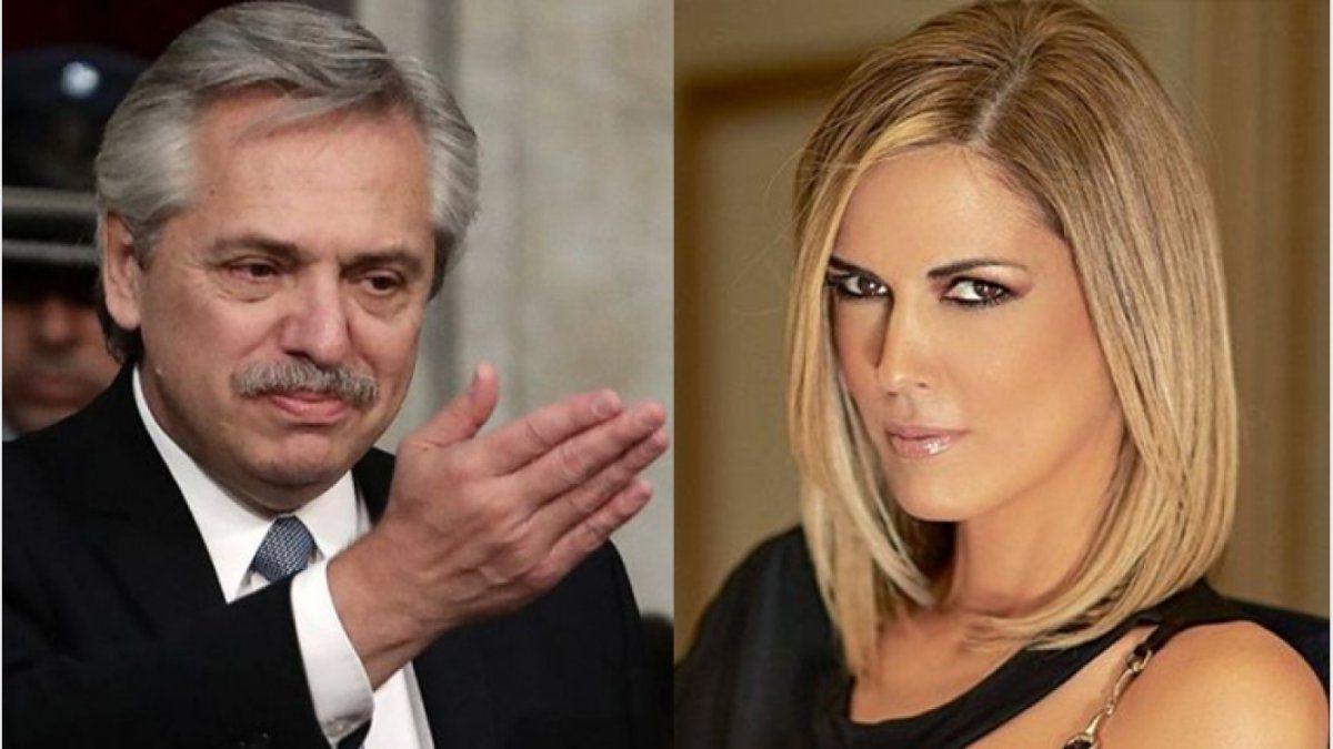 Viviana Canosa se fue del 9 criticando a Alberto Fernández
