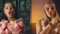 Isabela Merced y Danna Paola estrenaron Dont Go