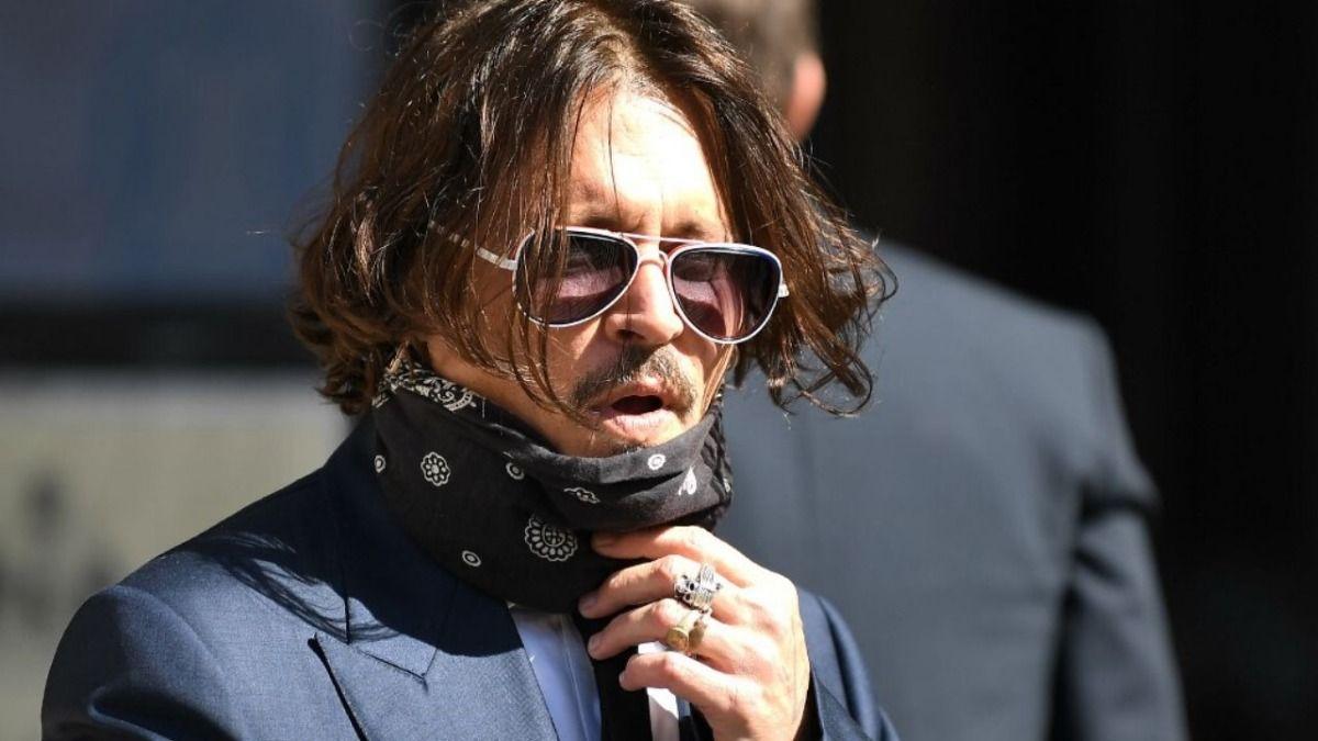 El actor Johnny Depp declaró hoy en el tribunal supremo de Londres