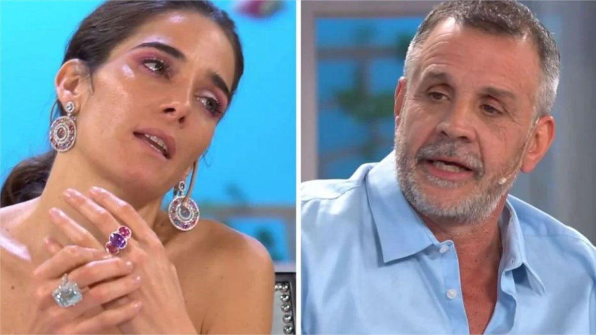 Christian Petersen y Juana Viale discutieron sobre el asado