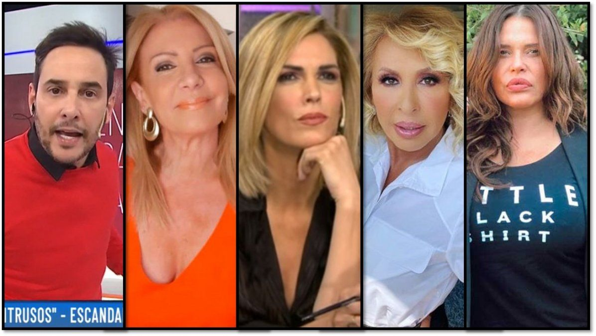 Divas en peligro: El castigo que Roccasalvo quiere contra Pecoraro; Canosa vs su imitadora; Laura Bozzo furiosa y Nazarena a los tiros