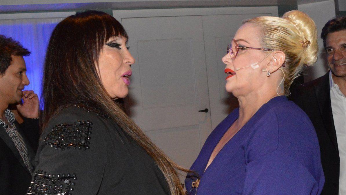 Moria Casán le dedicó palabras de apoyo a Carmen Barbieri