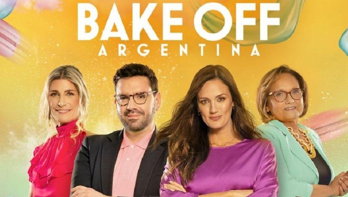 Bake Off Argentina, reality de Telefe en donde Christophe Krywonis fue jurado