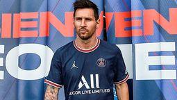 Lionel Messi encabezó la presentación de la tercera camiseta del PSG