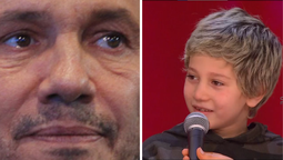 Marcelo Tinelli se enfrentó a Momo, el hijo de Jimena Barón