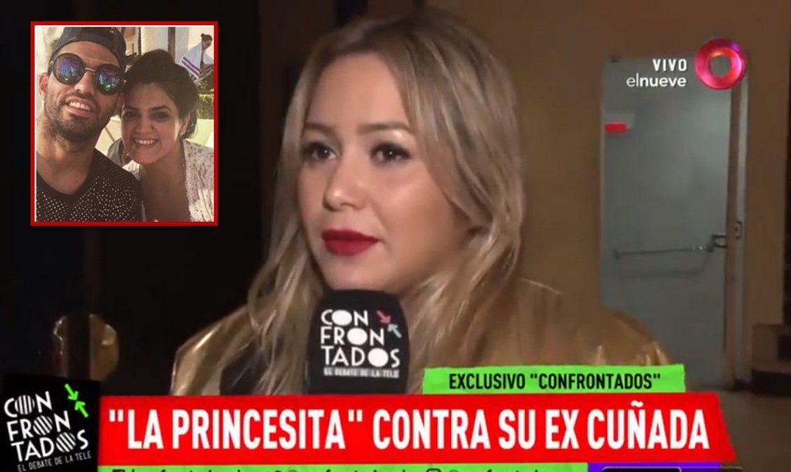 Karina La Princesita le respondió a la hermana del Kun Agüero : Si sigo enamorada de El Polaco, que le importa a ella