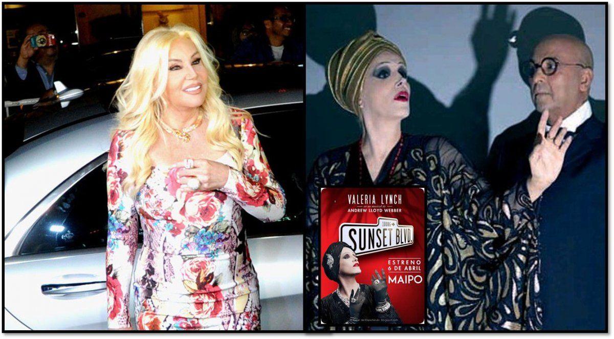 Susana Giménez eligió ver a Valeria Lynch en Sunset Boulevard