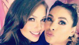 Galilea Montijo confiesa que Thalía fue la protagonista de un sueño hot