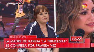 Karina habló de su triste pasado
