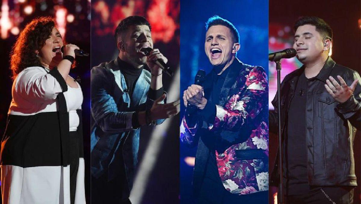 La Voz: los cuatro finalistas que luchan por coronarse como campeón