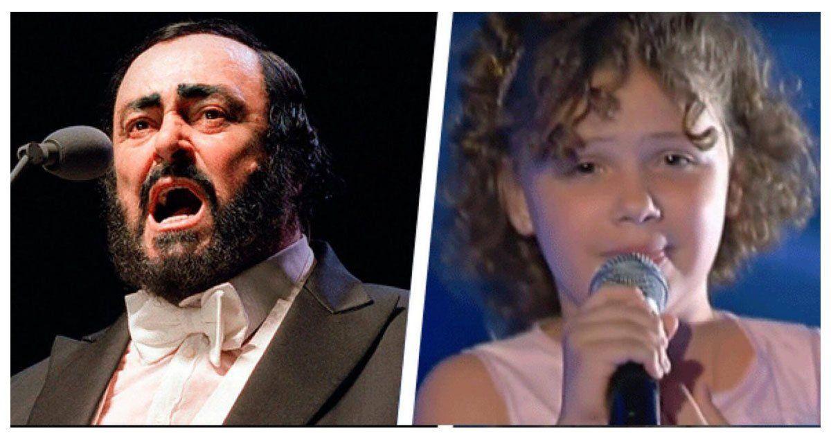 La nieta de Pavarotti impacta con su prodigiosa voz