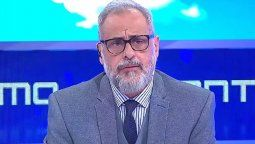 Jorge Rial se refirió a los comentarios del hermano de Susana, Patricio Giménez contra el gobierno