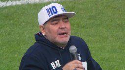 Maradona y su causa.