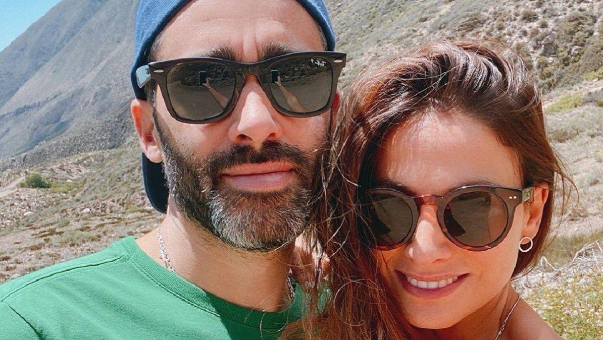 Estamos bien El Pollo Álvarez y Tefi Russo le hacieron frente a los rumores de separación
