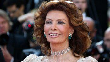 Sophia Loren recibió el David por la película La vida ante si