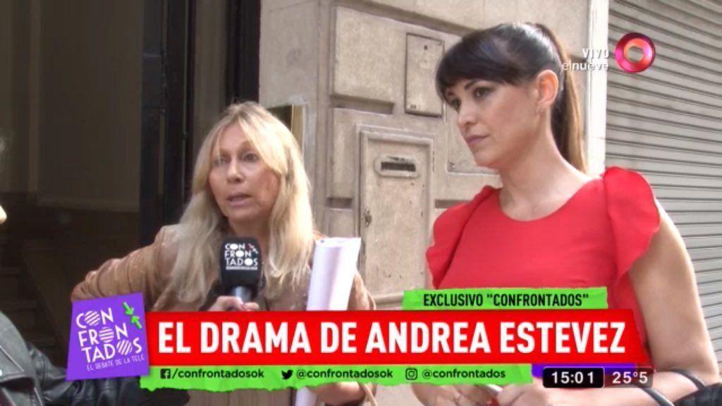 Fracasó la audiencia de Andrea Estévez y su ex: ¿cuál es la suma que le pide al padre de su hija?