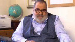 El periodista Jorge Lanata fue internado hoy por unos estudios programados