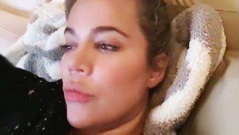 Esta mie... es real: Khloé Kardashian revela que tuvo coronavirus
