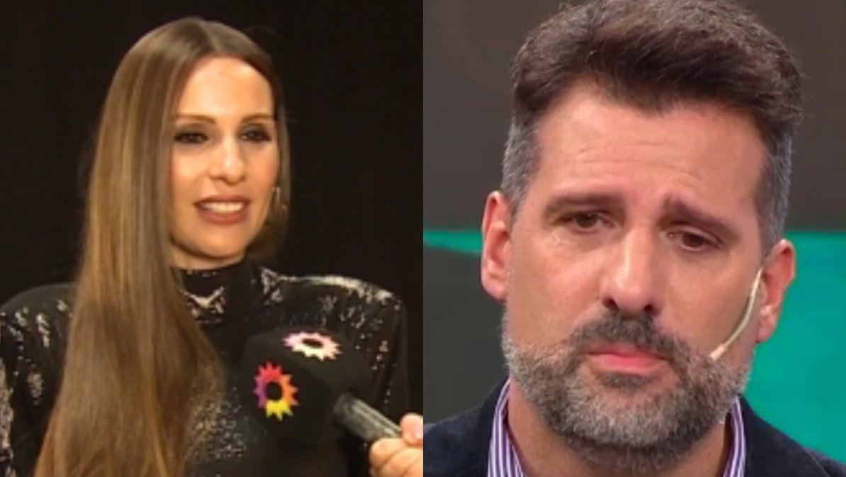 Pampita le respondió a José María Listorti por criticar su posición con respecto a las clases