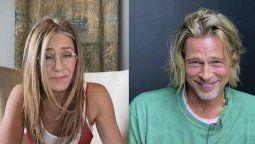 Brad Pitt y Jennifer Aniston actuaron juntos luego de 15 años