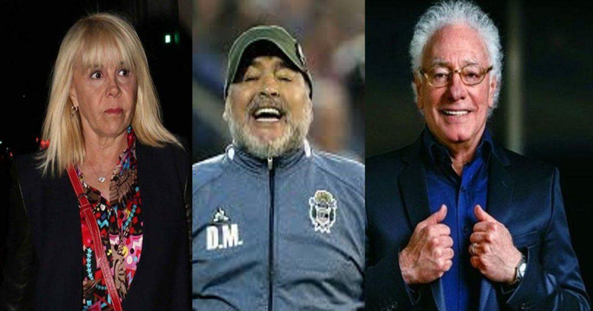 Primicia mundial: el guión del primer capítulo de la serie de Diego Maradona; A Cóppola y a Claudia los muestran de traidores