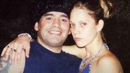 Diego Maradona y la ex novia del jugador Mavys Alvárez en Cuba