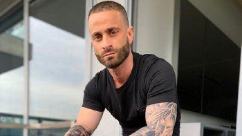El impresionante tatuaje de Martín Baclini en toda su espalda