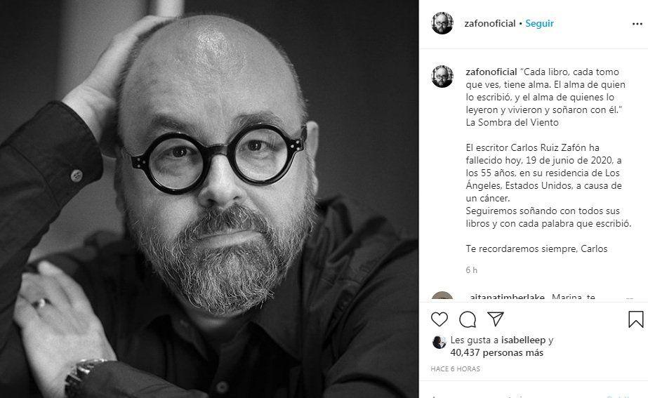 Instagram Carlos Ruiz