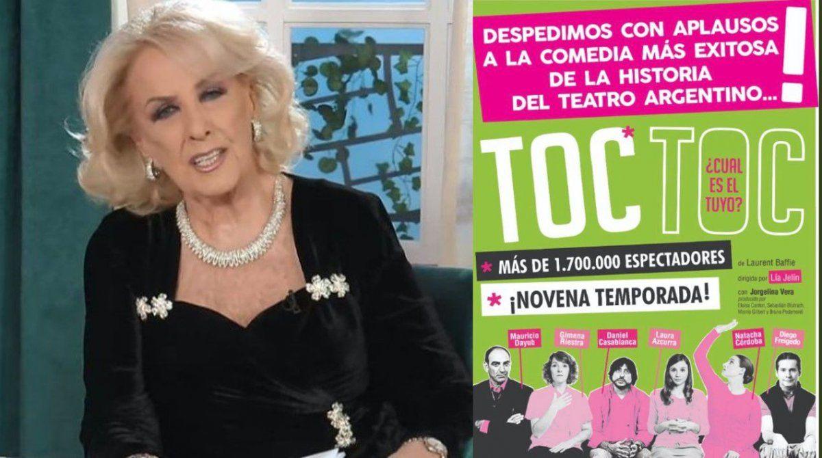 Mirtha Legrand, la artífice del regreso de Toc Toc en el 2020