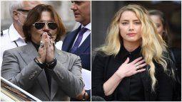 Los actores Johnny Deep y Amber Heard se vieron nuevamente en los tribunales del Londres