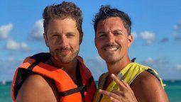 Guido Zaffora y sus hermosas vacaciones con su novio