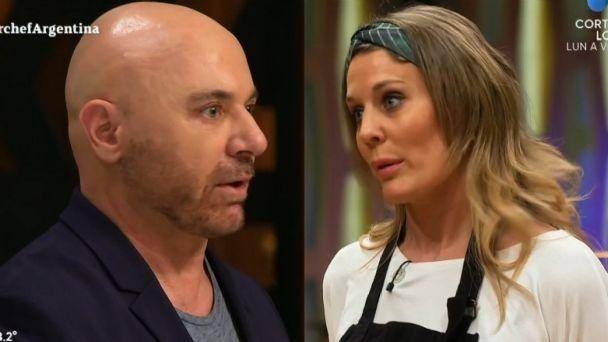 Rocío Marengo enfrentó a Germán Martitegui en su regreso a Masterchef Celebrity