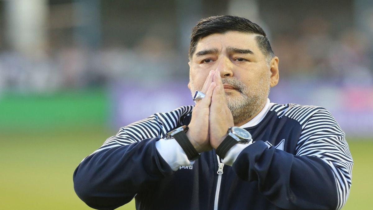 Carlos Díaz trató a Diego Maradona desde septiembre 2020 y hasta su muerte