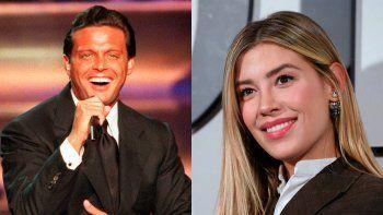 El cantante Luis Miguel y su hija Michelle Salas
