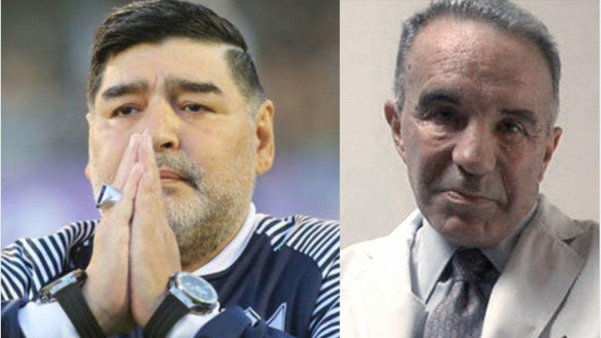 Alfredo Cahe dijo que lo de Maradona fue un suicidio