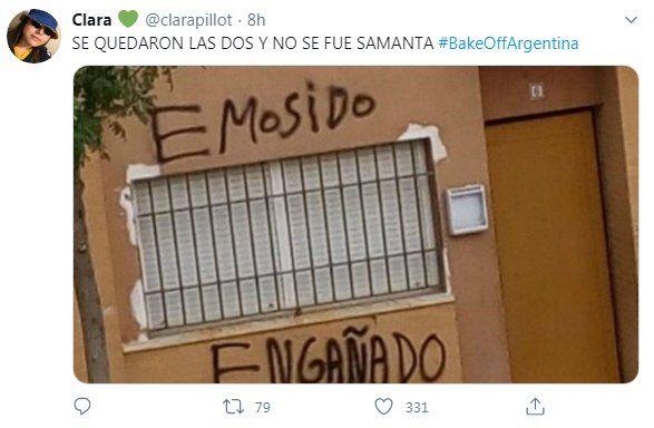 Paula Chaves y la decisión en Bake Off Argentina