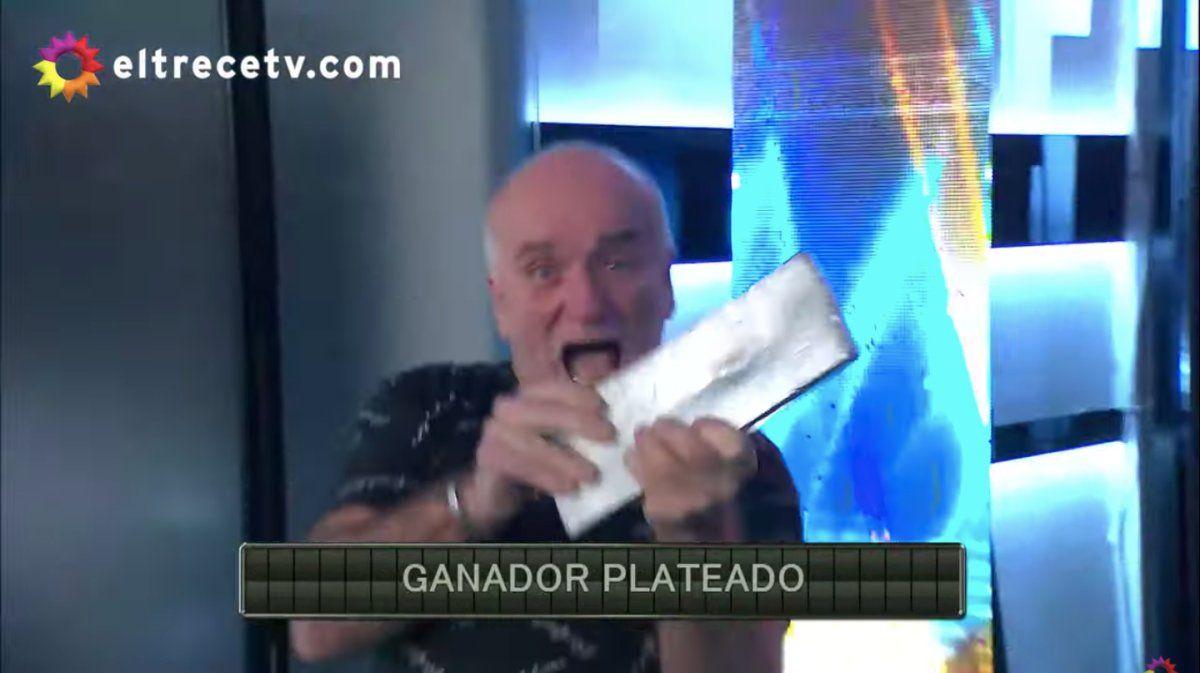 ¿Hizo trampa?: Un taxista sacó el lingote con una pequeña avivada en el programa de Guido Kaczka