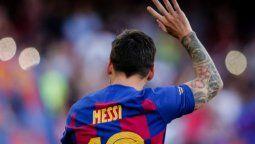 Lionel Messi envió un fax al Barcelona FC para informarles que no quería continuar la siguiente temporada en el club