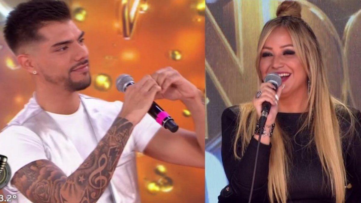 Cinthia Fernández cree que hay tensión sexual entre Karina La Princesita y Tyago Griffo