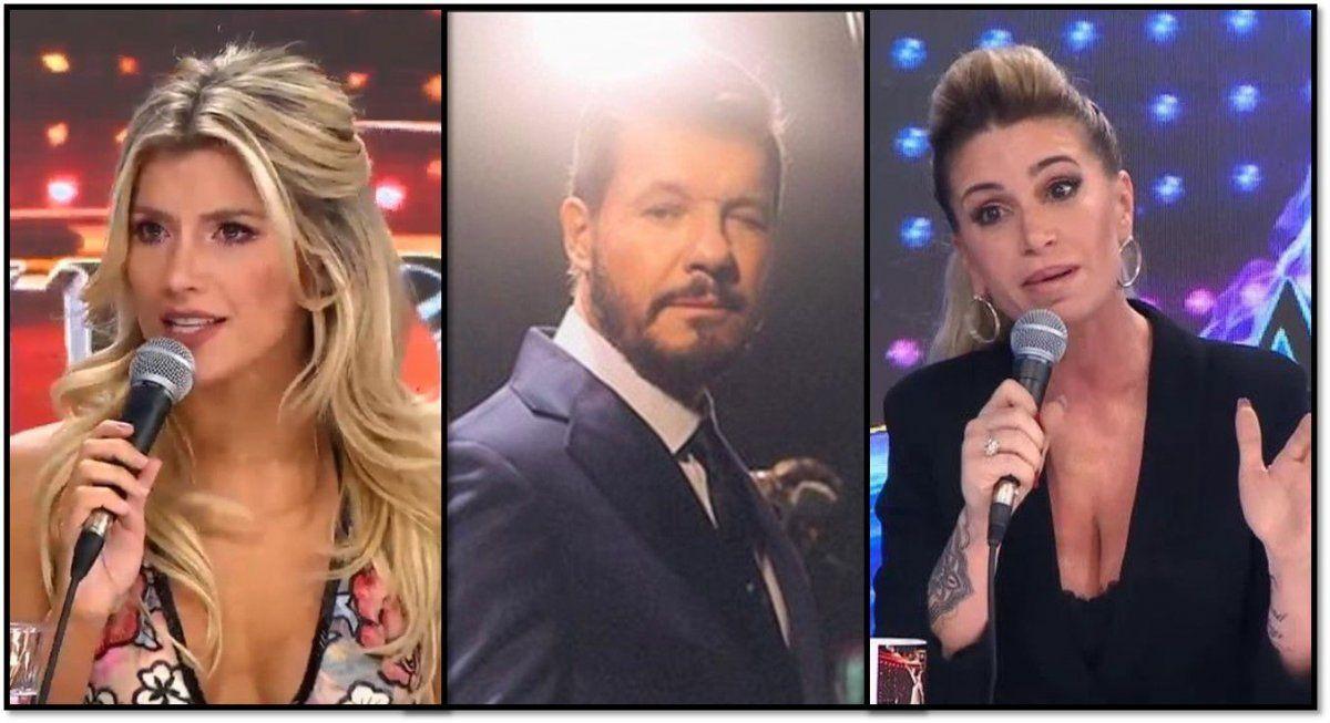 Tinelli está furioso con sus jurados mujeres: Con Laurita por querer irse antes y con Flor Peña por no apoyar al show