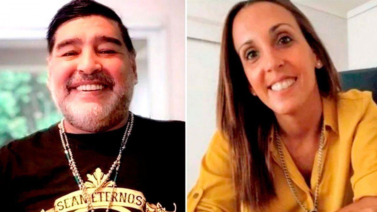 Diego Maradona no descansa en paz. Su psiquiatra frena la investigación por bloquear su celular.