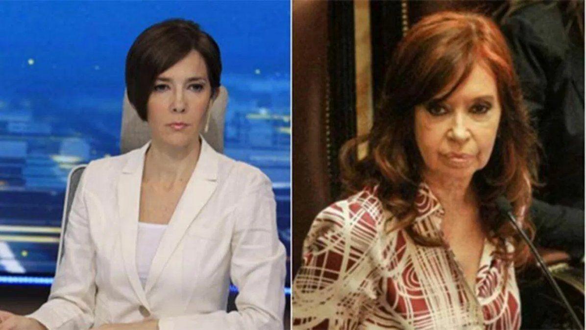 Cristina Pérez durísima con Cristina Kirchner tras la designación de Martín Soria