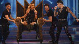 Paula Trápani hizo un homenaje a Madonna